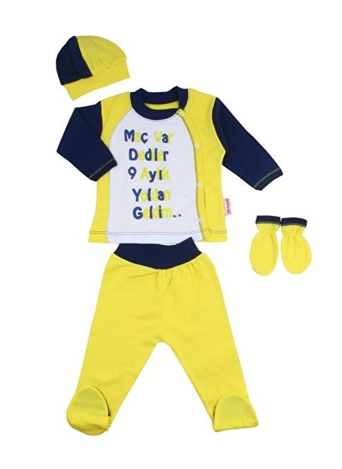 Missemo 4'lü Takım Sarı